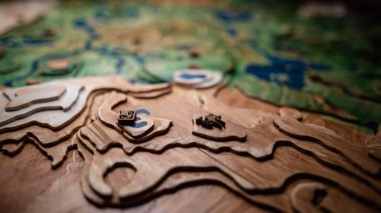 Sokáig tartott megépíteni, de nagyon jól néz ki a Breath of the Wild fából faragott térképe bevezetőkép