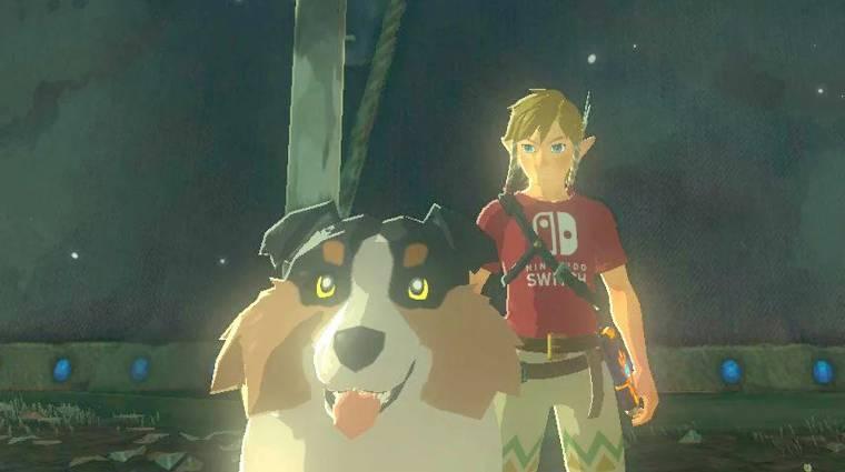 Ebben a Breath of the Wild speedrunban a kutyák megetetése volt a cél bevezetőkép