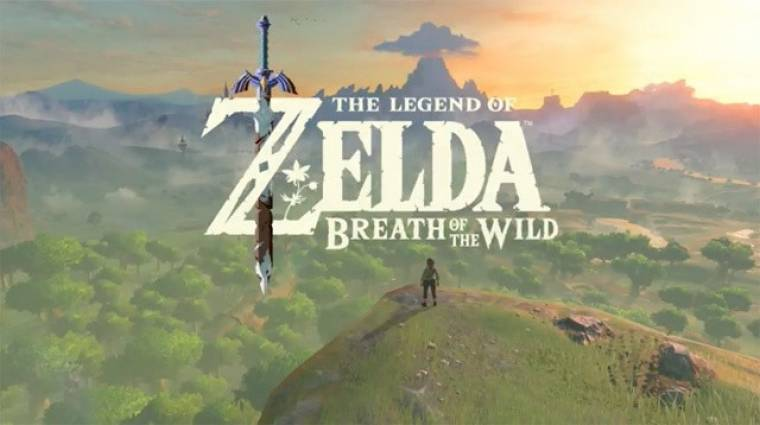 Gamescom 2016 díjak - tarolt a The Legend of Zelda: Breath of the Wild bevezetőkép