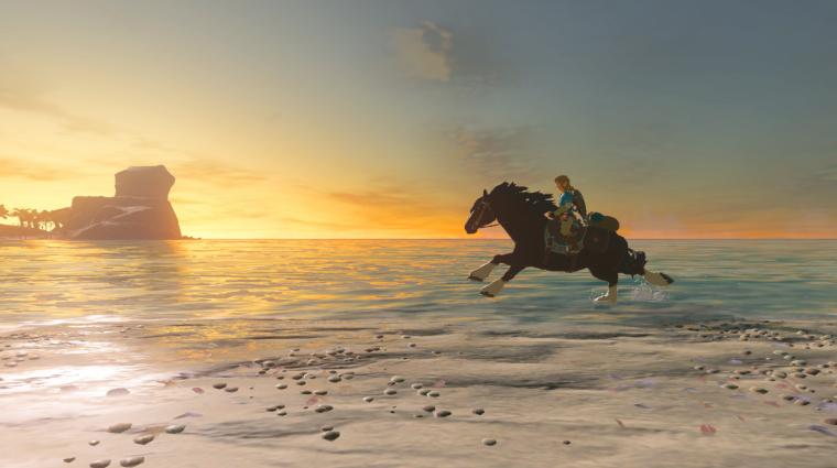 The Legend of Zelda: Breath of the Wild - új traileren egy régi ismerős bevezetőkép