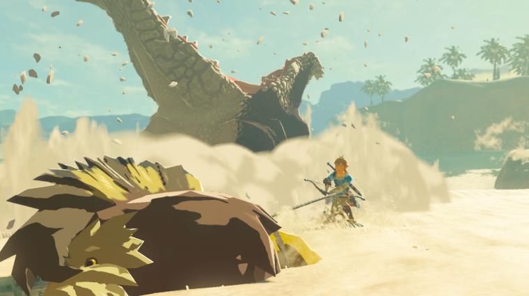 The Legend of Zelda: Breath of the Wild - újabb percek a játékmenetből bevezetőkép