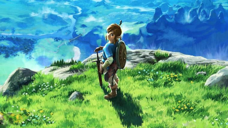 Gyönyörű animációs kisfilm állít emléket a The Legend of Zelda: Breath of the Wildnak bevezetőkép