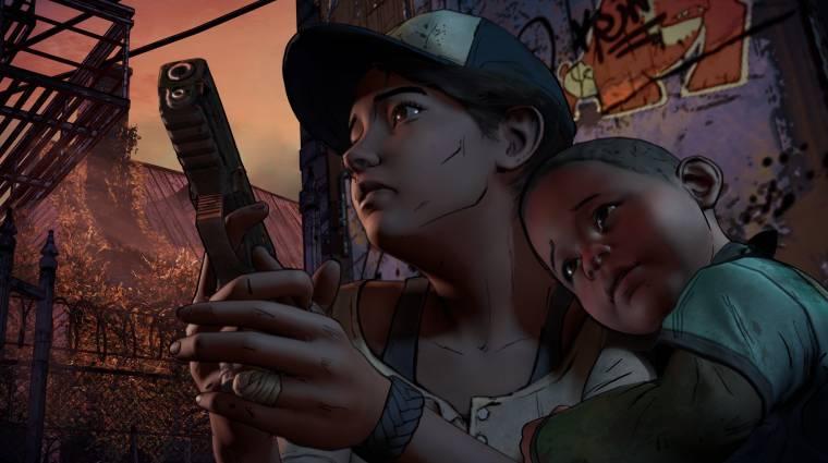 The Walking Dead: Season 3 - Clementine-nak már nem kell védelem bevezetőkép