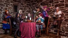 A Witcher 3 teljes csapata életre kelt kép