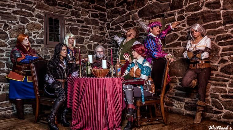 A Witcher 3 teljes csapata életre kelt bevezetőkép