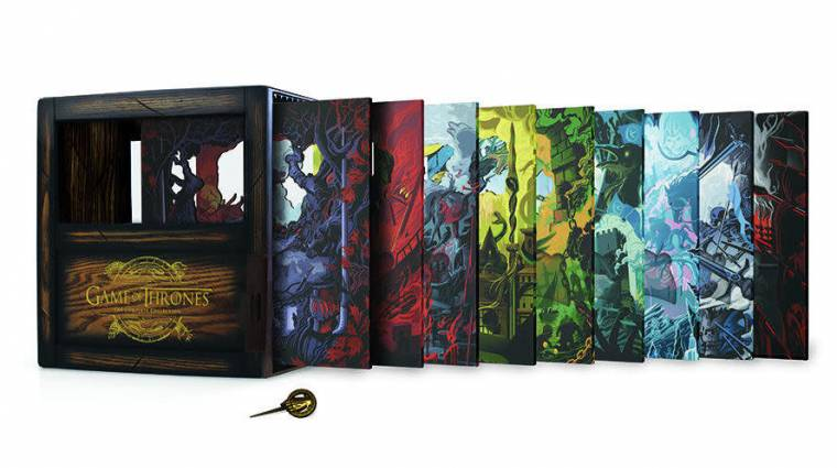 Gyönyörű dobozban jelenik meg a teljes Trónok harca sorozat bevezetőkép
