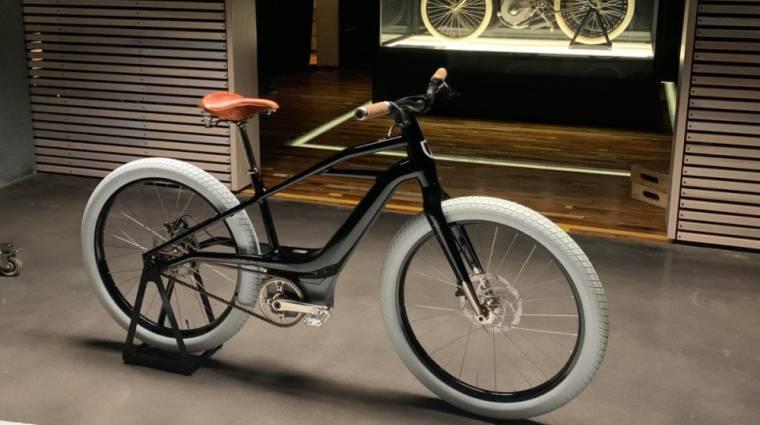 Itt a Harley-Davidson első elektromos biciklije kép