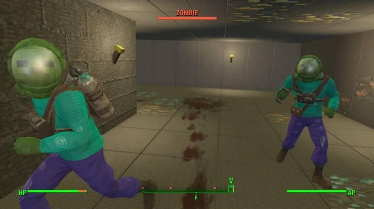 A Fallout 4-hez Minecraft mod készült bevezetőkép