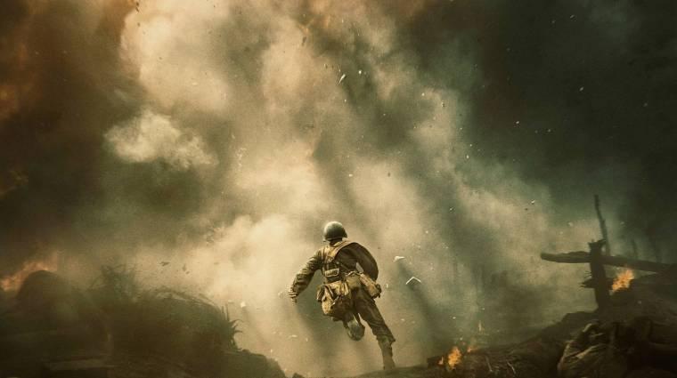 Mel Gibson magyarul is brutális - A fegyvertelen katona szinkronfelvételén jártunk kép