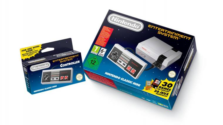 Mégis elkezdte kivezetni a Nintendo a piacról a Mini NES-t bevezetőkép