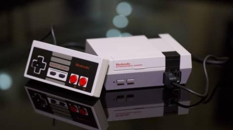 Egy vagyonért kelnek el az utolsó NES Classic Mini konzolok bevezetőkép
