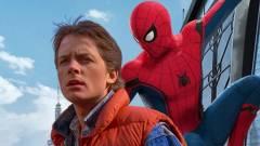 Az új Peter Parkert Marty McFly ihlette kép