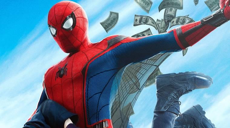 A második legsikeresebb Pókember film lett a Hazatérés kép