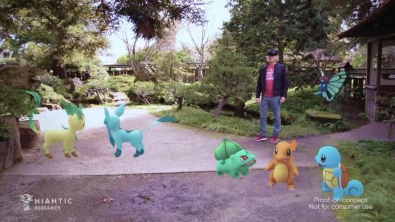 Így működhet a Pokémon GO a Microsoft AR szemüvegével kép
