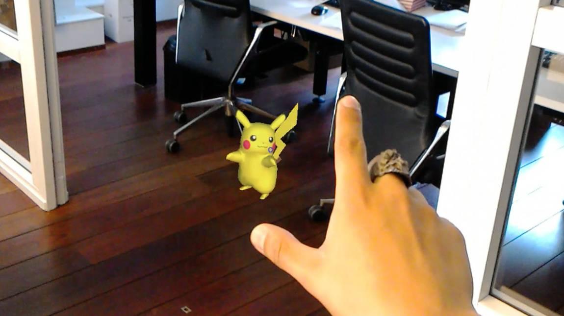 Így nézne ki a Pokémon Go a HoloLens szemüveggel bevezetőkép