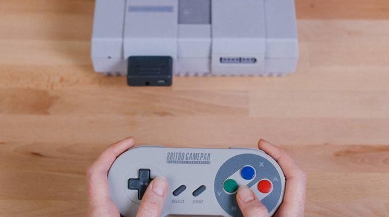 Super Nintendo - akár a PS4 kontrollerével is használható bevezetőkép
