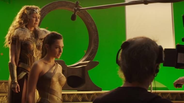 Wonder Woman - kulisszák mögötti felvételek kép