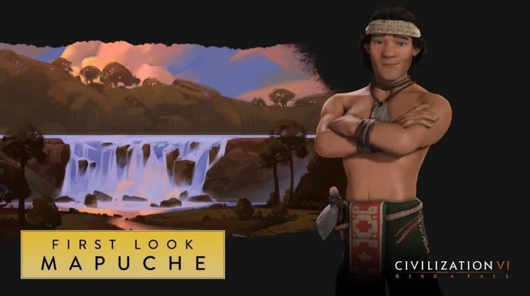 Civilization VI - jönnek a Mapuche őslakosok bevezetőkép