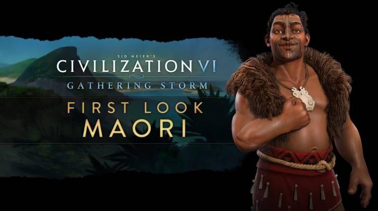 Civilization VI - a maori civilizáció is csatlakozik bevezetőkép