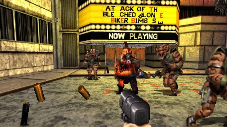 Új fejezettel jön a Duke Nukem 3D felújított verziója bevezetőkép