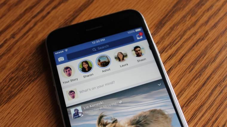 Hamarosan reklámok kerülnek a Facebook Stories felületére kép