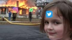 Mókás mémeket szült a nagy Facebook leállás kép