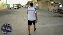 Az egyik focicsapat GTA-stílusban jelentette be az új igazolását kép