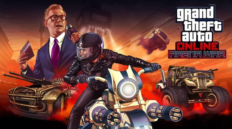 Grand Theft Auto Online - ma jön a következő frissítés bevezetőkép