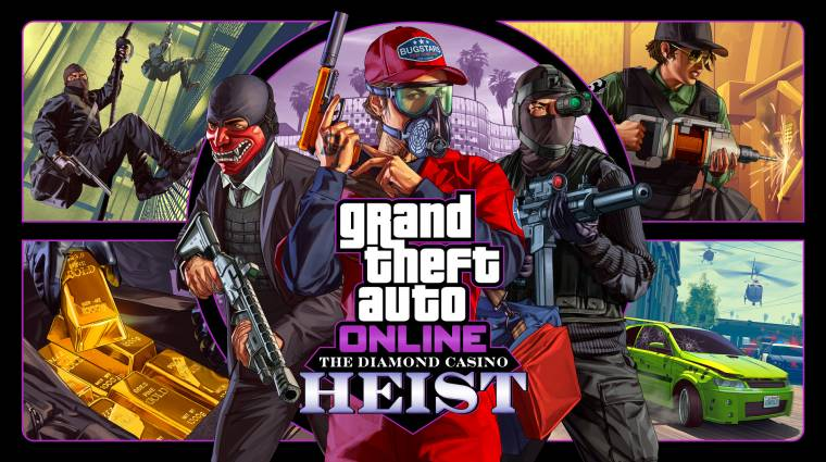 Kaszinórablást hoz a következő GTA Online frissítés bevezetőkép