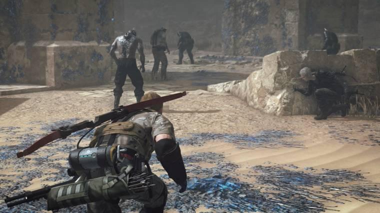 Metal Gear Survive - hangulatos launch trailert kaptunk bevezetőkép