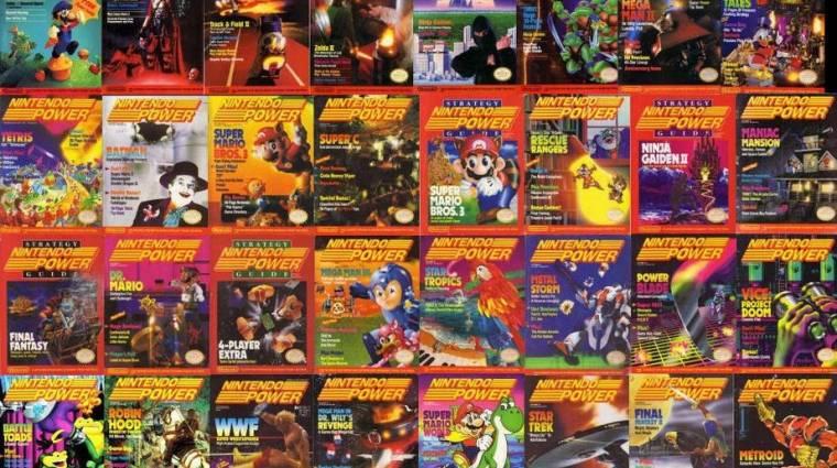 Nintendo Power - 13 évnyi magazint tölthettek le ingyen bevezetőkép