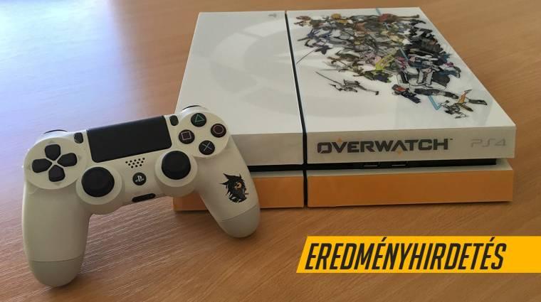 Overwatch PS4 pályázat - íme a győztes és a legjobbak bevezetőkép