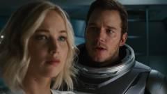 Passengers - traileren Pratt és Lawrence űrbéli románca kép