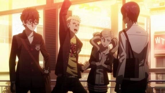 Angol szinkront kap a Persona 5 anime kép