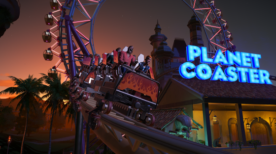 Planet Coaster infódoboz
