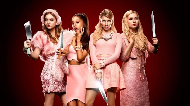 Scream Queens - magyarul is jönnek a sikolykirálynők kép