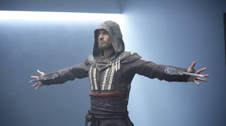 Assassin's Creed - új képeken Michael Fassbender kép