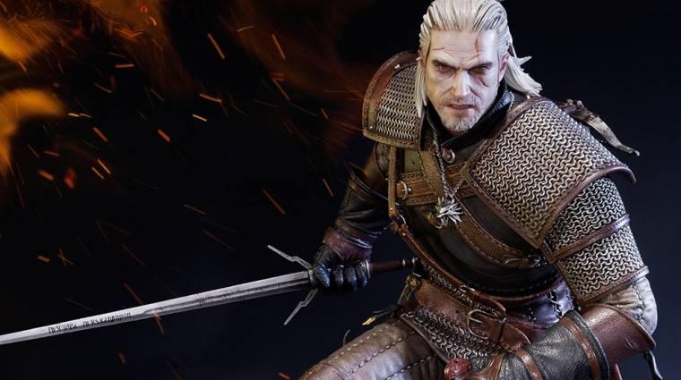 Ezt a Ríviai Geralt szobrot mi is elfogadnánk bevezetőkép