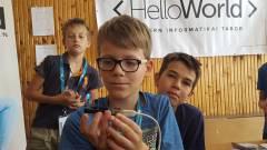 HelloWorld Űrtábor - építs te is saját marsjáró robotot! kép