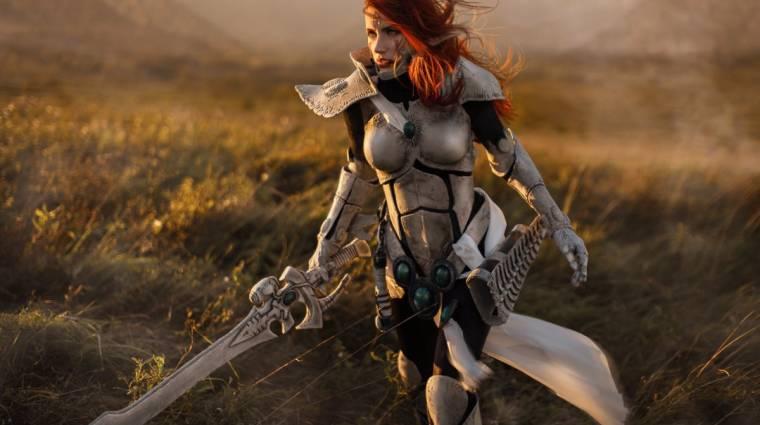 Ritkán látunk ilyen izgalmas Warhammer 40K cosplayt bevezetőkép