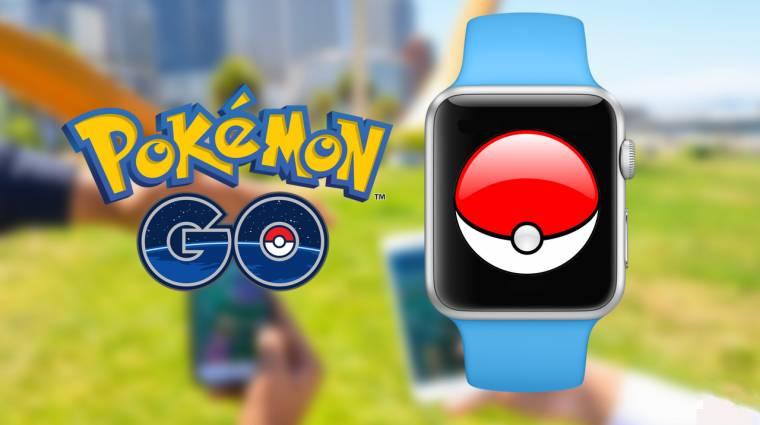 Pokémon GO - hamarosan érkezik a Apple Watch támogatás bevezetőkép