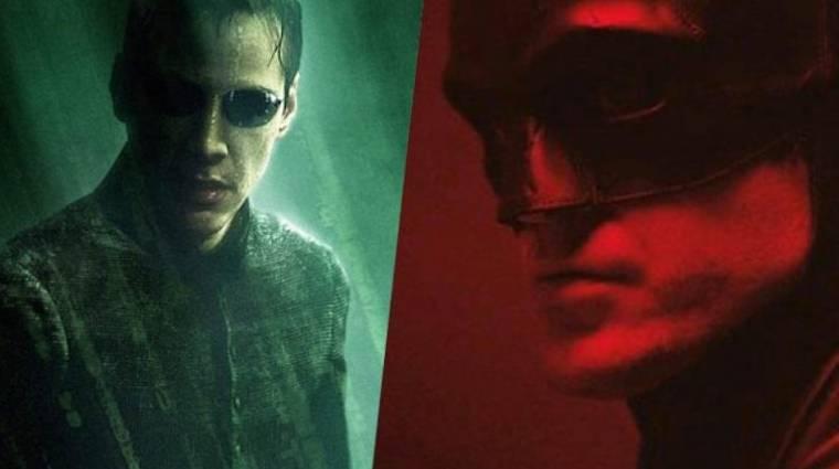 A Warner nem állítja le a The Batman és a Mátrix 4. forgatását kép