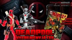 Nyerj velünk Deadpool figurát és képregényt! kép