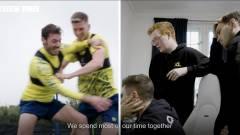 Dokumentumfilm-sorozat mutatja be, milyen egymáshoz képest a focisták és e-sportolók edzése kép