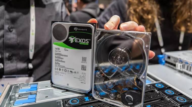 A Seagate új technológiája lenyomhatja a nagyméretű merevlemezek árát kép
