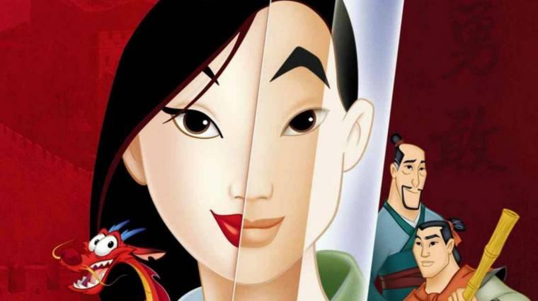 Mulan - a mese egyik legnépszerűbb karaktere is benne lesz kép