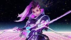 Overwatch - menő művészi rajzok Sombráról kép