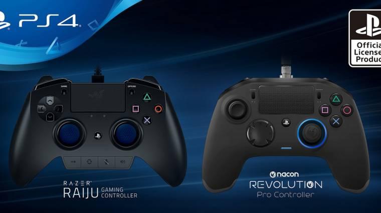 Két speciális kontrollert kapnak a hardcore PS4-es játékosok bevezetőkép
