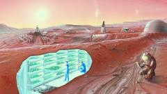 Száz év múlva egymillióan leszünk a Marson! kép