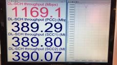 1200 Mbps-os letöltési sebesség 4G+ technológián kép
